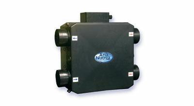 Вентиляция с рекуперацией тепла канальная E200R