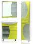 Комплект мебель для ванной цветная. Сс55.