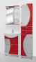 Комплект мебель для ванной цветная. ссл60